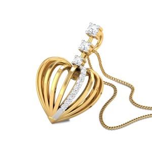 Maeoni Diamond Heart Pendant