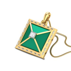 Advaith Diamond Pendant