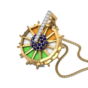 Salute Diamond Pendant