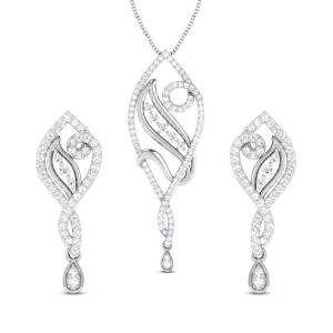 Mangala Diamond Pendant Set