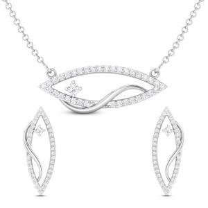 Suhanisa Diamond Pendant Set