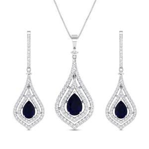 Diamond Pendant Set DJPS5157
