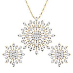 Diamond Pendant Set DJPS5160