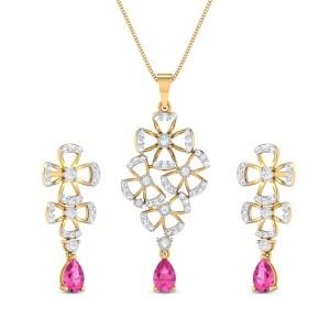 Diamond Pendant Set DJPS5161