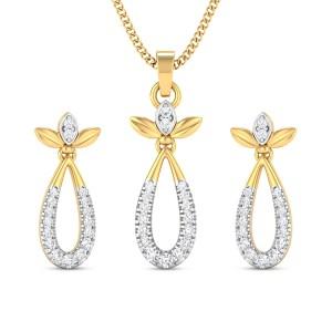 Diamond Pendant Set DJPS5163