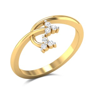 Orchid Diamond Ring