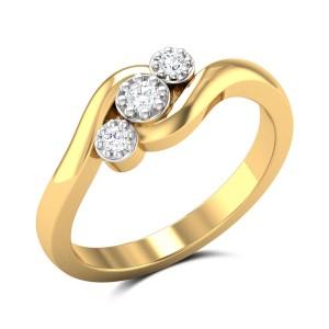 Twilight Blush Diamond Ring