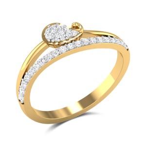 Aakriti Paisley Ring