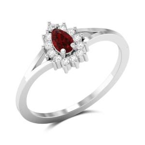 Biwitching Rose Diamond Ring