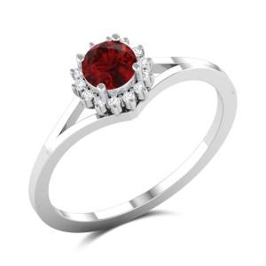 White Jasmine Diamond Ring