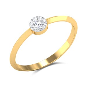 Corcoran Crest Diamond Ring