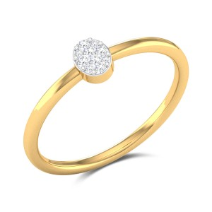 Jersey Eye Diamond Ring