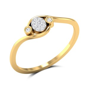 Glitzy Girl Diamond Ring