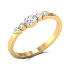 Solomon's Band Diamond Ring