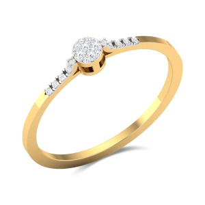 Lover's Cove Diamond Ring