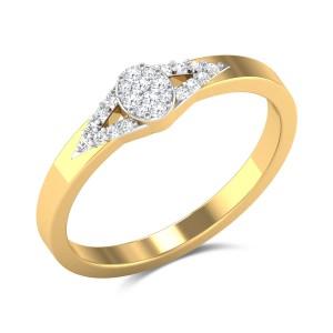 Roman Fleuve Diamond Ring