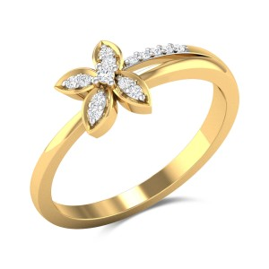 Endive Diamond Ring