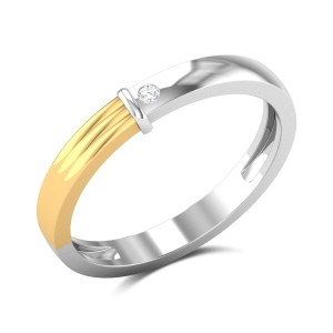 Dual Dynamic Diamond Ring