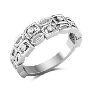 Buy Brady Diamond Ring in 3.08 Gms Gold Online