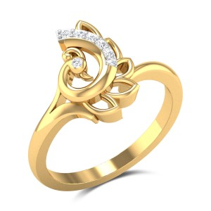 Buy Erin Diamond Ring in 2.87 Gms Gold Online