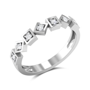 Buy Glenna Diamond Ring in 2.37 Gms Gold Online