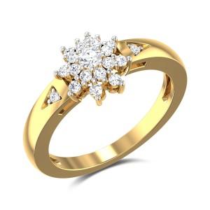 Wisteria Diamond Ring