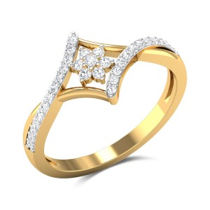 Edelweiss Diamond Ring
