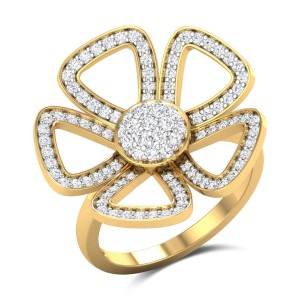 Blooming Blossom Diamond Ring