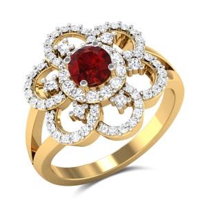 Bakhtiaar Floral Ring