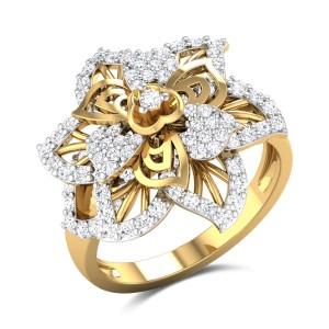 Aashni Floral Cluster Ring