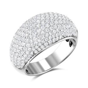 Aatreyi Diamond Cluster Band Ring