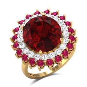 Sadegh Diamond Cocktail Ring
