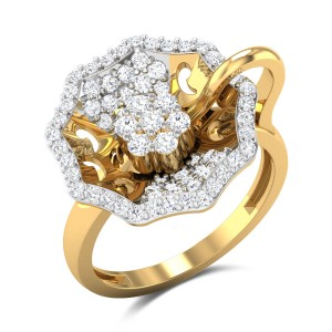 Aisling Diamond Cocktail Ring