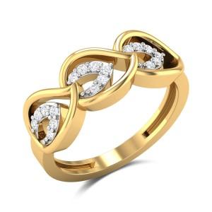 Yehuda Leafy Diamond Pendant