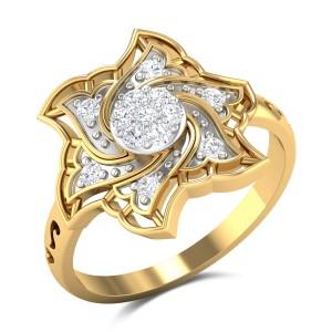 Fitzgerald Diamond Cocktail Ring