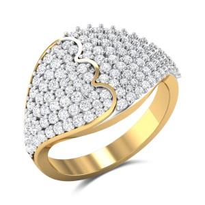 Declan Diamond Cocktail Ring