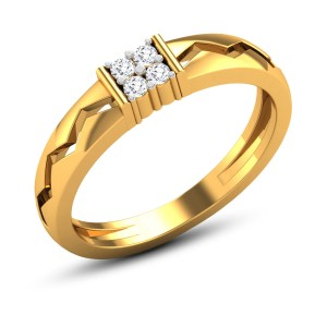 Vaclav 4 Stone Diamond Ring
