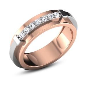 Abhaya Diamond Band Ring