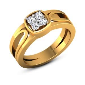 Abhisumat 4 Stone Diamond Ring