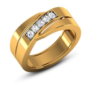 Aahva Diamond Band Ring
