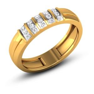 Aapal Diamond Band Ring