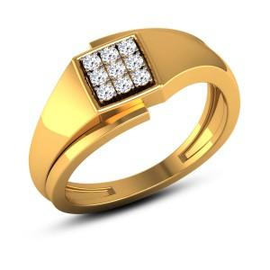 Abrash 9 Stone Diamond Ring