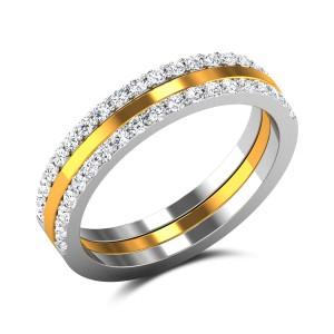 Alchemy Diamond Band Ring