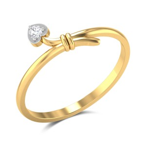 Hampus Heart Diamond Ring
