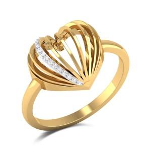 Malisa Diamond Heart Ring