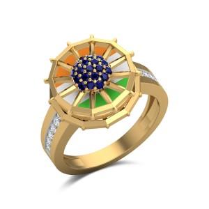 Patriot Diamond Ring