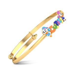 Amber Gold Bracelet