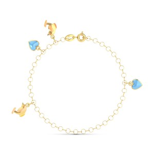 Nyree Gold Bracelet