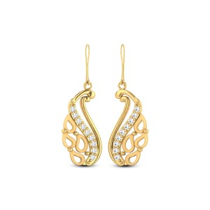 Juno Gold & CZ Earrings