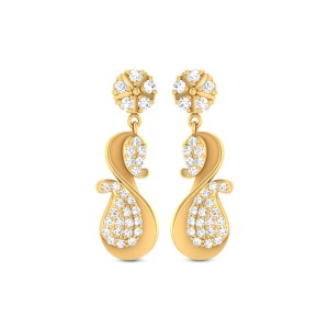 Cate Gold & CZ Earrings